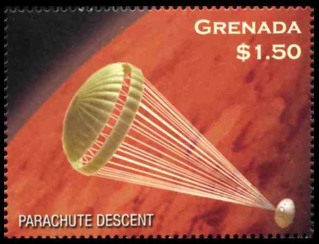 descent of a parachute essay